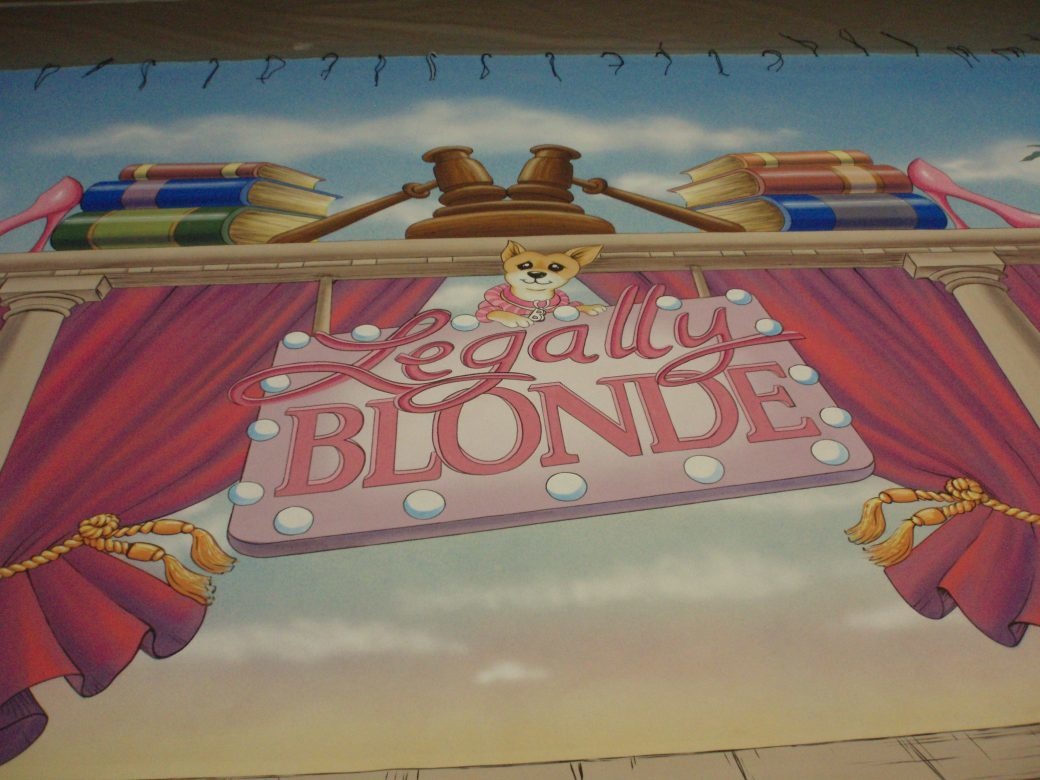 Legally Blond, 2015.  Betsy Feeny, Designer