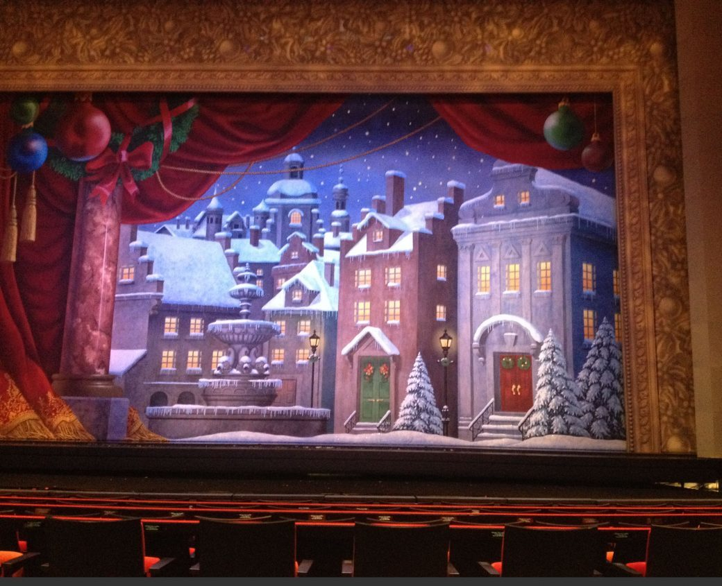 Show backdrop in Production