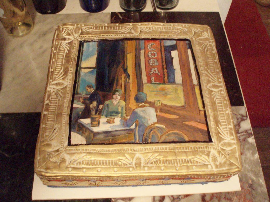 CLIFF SIMON'S 20TH ANNIVERSARY CAKE