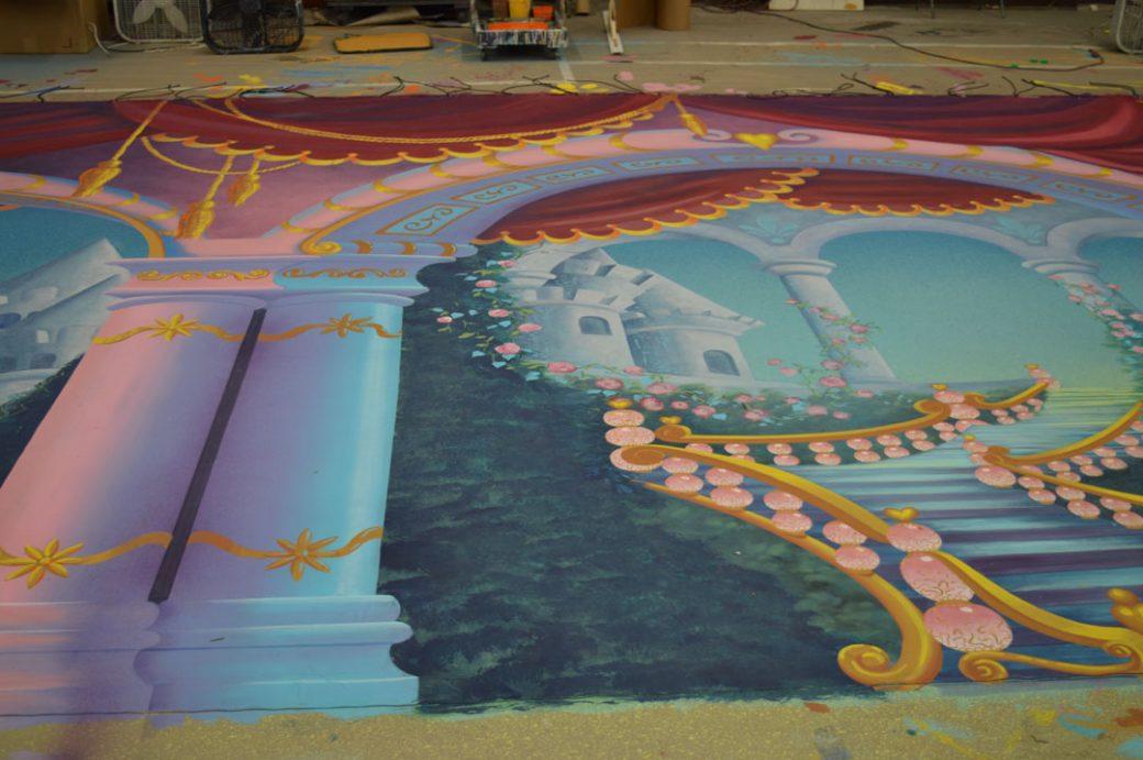 detail Sleeping Beauty. SA Alison Fox, Amy Shimko and Rachel Keebler