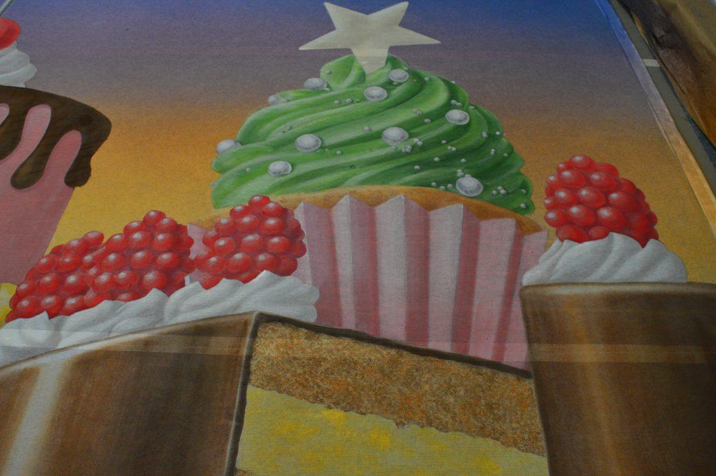 Candy Kingdom Scrim - detail