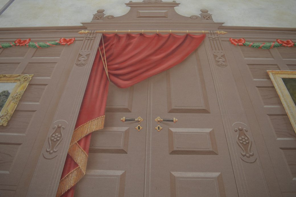 Hallway Scrim - ctr detail